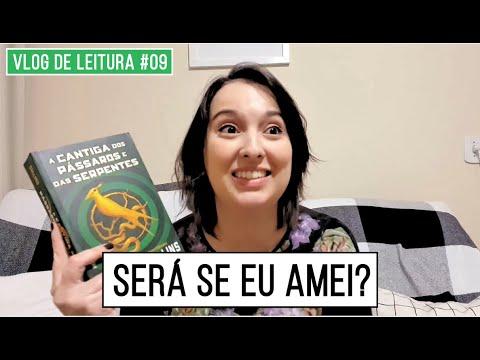 """VLOG DE LEITURA #09: Lendo o novo livro de Jogos Vorazes! """"A CANTIGA DOS P�SSAROS E DAS SERPENTES"""""""