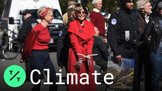 Jane Fonda Arrested Again for Climate Change Protests