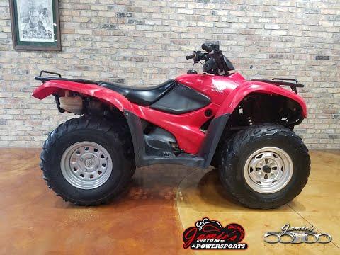 2008 Honda FourTrax® Rancher® 4x4 ES in Big Bend, Wisconsin - Video 1