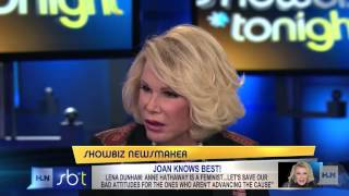 Joan Rivers part of the 'Hatha-haters'?