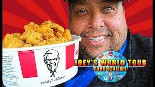 KFC® $10 Chicken Share Bucket: Popcorn Nuggets Review!