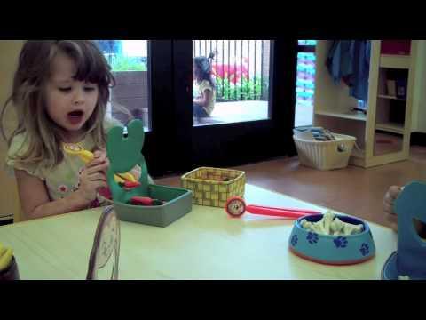 Screenshot of video: Chop stick activities