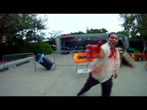 Comiccon 2012 The Walking Dead Zombie Escape Experience