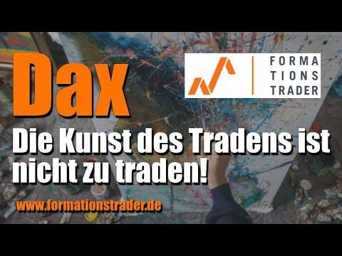 Dax: Die Kunst des Tradens ist nicht zu traden!