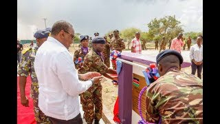 President Kenyatta inaugurates Modika Barracks