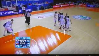 Korea vs Philippines~2014 Asian Games ~4th Quarter