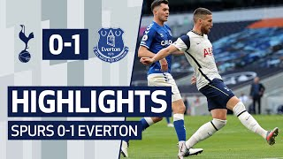 HIGHLIGHTS | SPURS 0-1 EVERTON