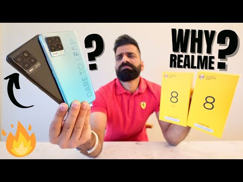 Realme 8 & Realme 8 Pro Unboxing & First Look - Not A REAL Upgrade🔥🔥🔥