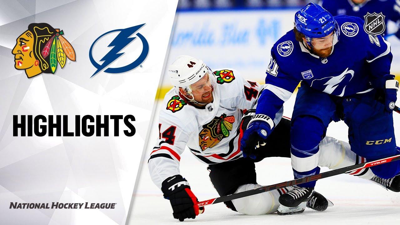 Blackhawks vs Lightning | Wednesday, January 13, 2021