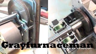 Newer modulator motor:  a look inside.  Part 4