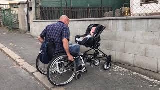 přídavné zařízení k aktivním mechanickým invalidním vozíkům Cursum - Cursum v praxi
