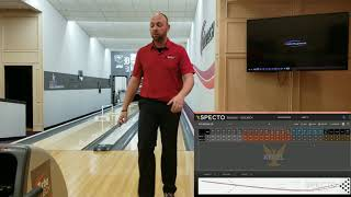 How to adjust on most bowling sport patterns (getting lined up)
