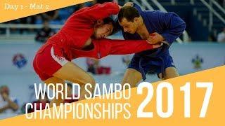 World Sambo Championships. Sochi 2017. Day 1. Mat 2