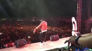 Ben Pol perfoming Moyo Shophia, Jikubali, Maneno, Pete, Samboira, Moyo Mashine at the fiesta 2016
