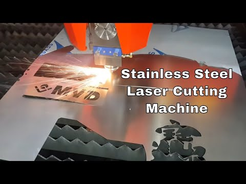 500W Fiber Laser Cutting Machine for Metal Sheet - Stainless Steel Laser Cutting Machine -Brand MVD