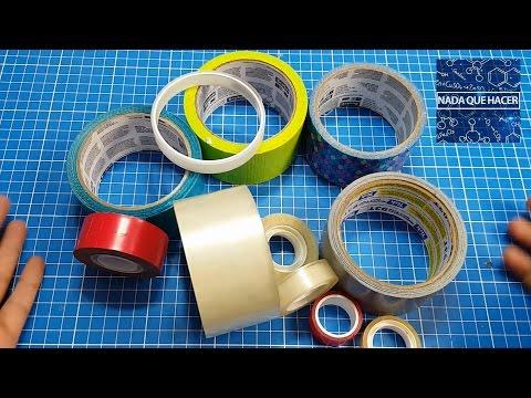 5 ideas increíbles con cintas adhesivas | NQUEH