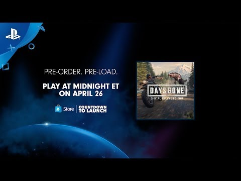 Days Gone - Countdown to Launch | PlayStation Store thumbnail