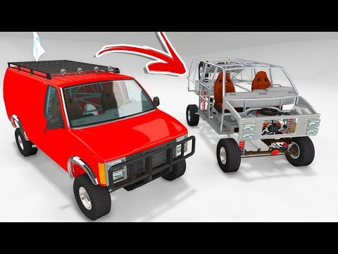 Is This The BEST Car Mod Ever?! INSANE CRASHES! - BeamNG Drive Off-Road H-Series Mod