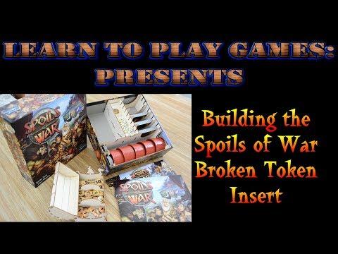 Learn to Build: Broken Token insert for Spoils of War