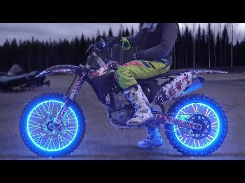 LED LIGHT WHEELS to Motorcycle