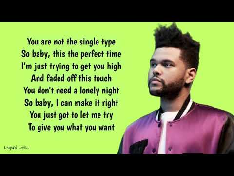 The Weeknd - I Feel It Coming ~ Lyrics ~ ft. Daft Punk
