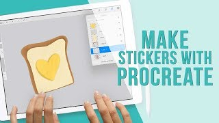 How to Use Procreate to Create Stickers for GoodNotes
