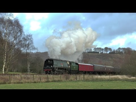 West Country 34007 'Wadebridge' on the Churnet Valley Railwa…