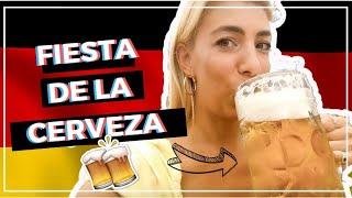 Argentinos en la fiesta de la cerveza, así es Gillamoos.