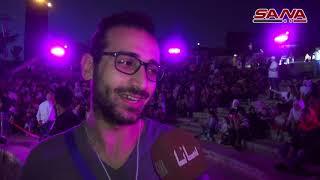 مهرجان الأصالة الأول لإحياء الطرب الحلبي على مدرج قلعة حلب- فيديو