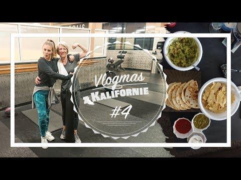 VLOGMAS z  KALIFORNIE #4 | Samý jídlo & mamka Martina jede bomby