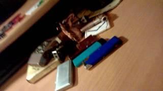 Обзор на мои зажигалки и коробки СССР