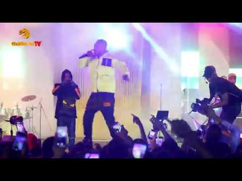 Zlatan Ibile dances and performs his best songs at Unlimited Faaji with Olamide