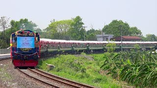 Inaugural / First Run of Non-stop Banalata Express Train || Rajshahi to Dhaka || Bangladesh Railway