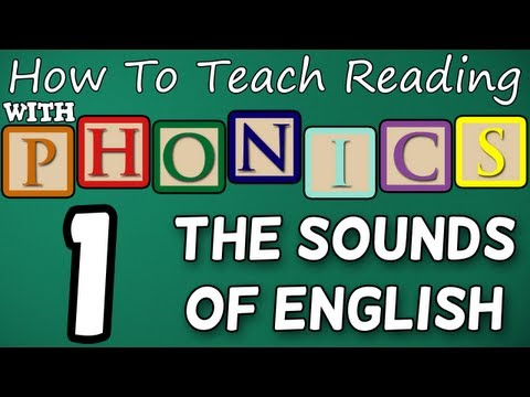 How to Teach Reading - Lesson 1 - The Alphabet & Letter Sounds