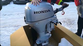 Лодочный мотор Honda BF15DK2-SH-U от компании Интернет-магазин «Vlodke» - видео