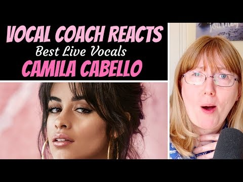 Vocal Coach Reacts to Camila Cabello Best LIVE Vocals