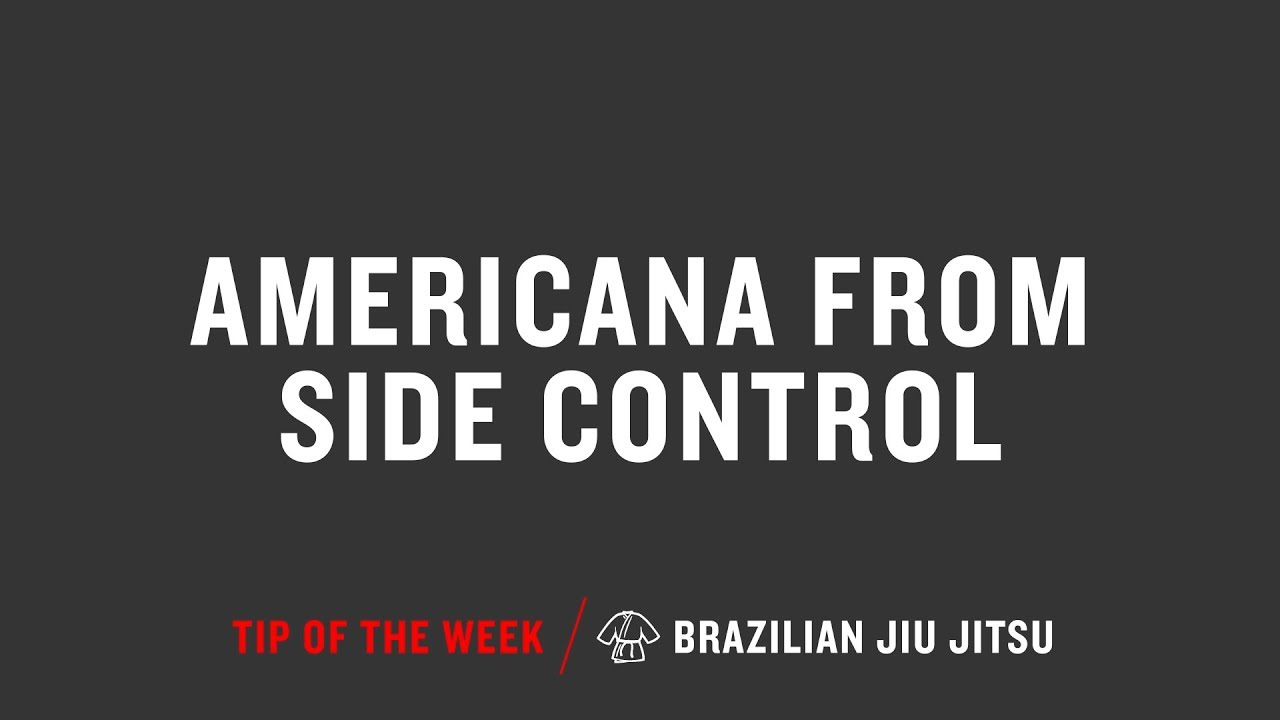 Americana From Side Control