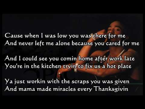 Dear Mama by 2pac Single File