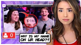 Pokimane Finds the WEIRDEST Twitch Stream! (FREAKOUT)