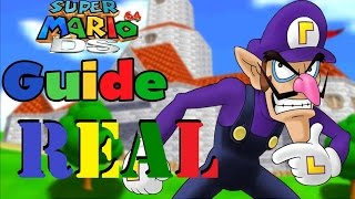 Waluigi In Super Mario 64 DS - Read Desc.