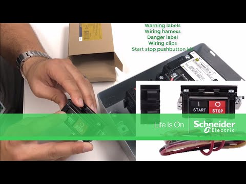 Video: How to install 9999SA2 Start-Stop push button kit on 8536 starters?