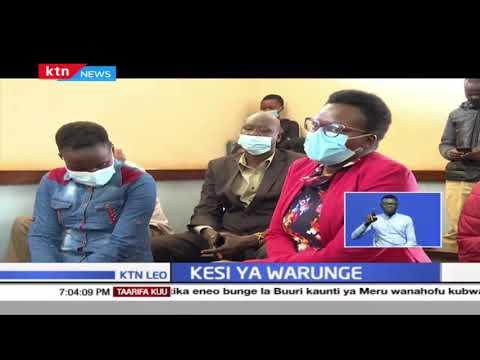 Kesi ya Warunge: Kesi ya Warunge yachelewa kuanza baada ya mshukiwa mkuu kukosa kufika