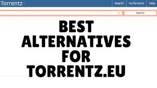 Torrent is shut down,Best alternatives for torrentz.eu 2016 ✓