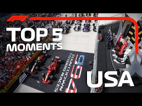 Top 5 Moments | 2018 United States Grand Prix