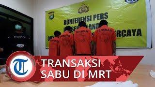Polisi Tangkap Pemuda setelah Transaksi Narkoba di Bawah Stasiun MRT Haji Nawi