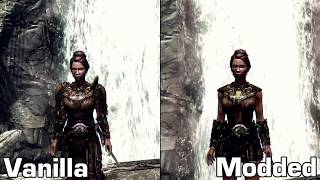 Skyrim Mods - Week #8: Skimpy Armor, Confident ENB, Catwalk, Nocturnal Robes, Better Males