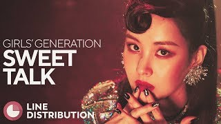 GIRLS' GENERATION - Sweet Talk (Line Distribution)