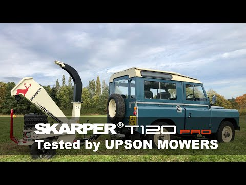 SKARPER® T120 PRO | land towable version