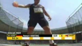 Robert Harting Discus Tribute