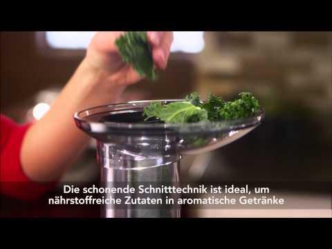 Der Artisan Maximal-Entsafter von KitchenAid - alle Funktionen im Überblick